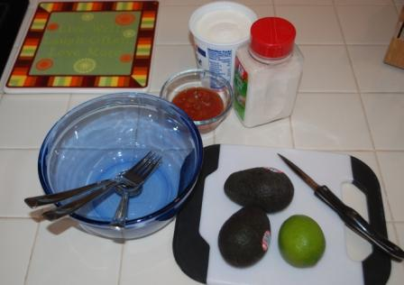 easy guacamole ingredients