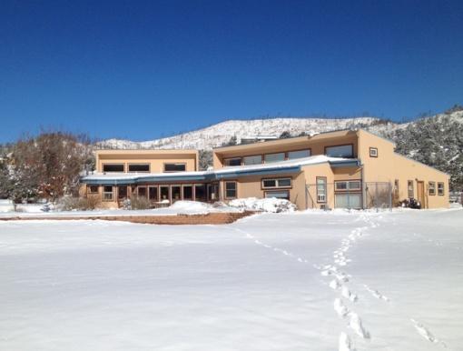 passive solar NM home