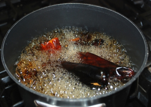boiling-red-chile-pods