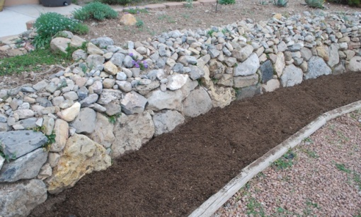 amended soil for vegetables and herbs