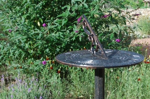 sundial as garden art